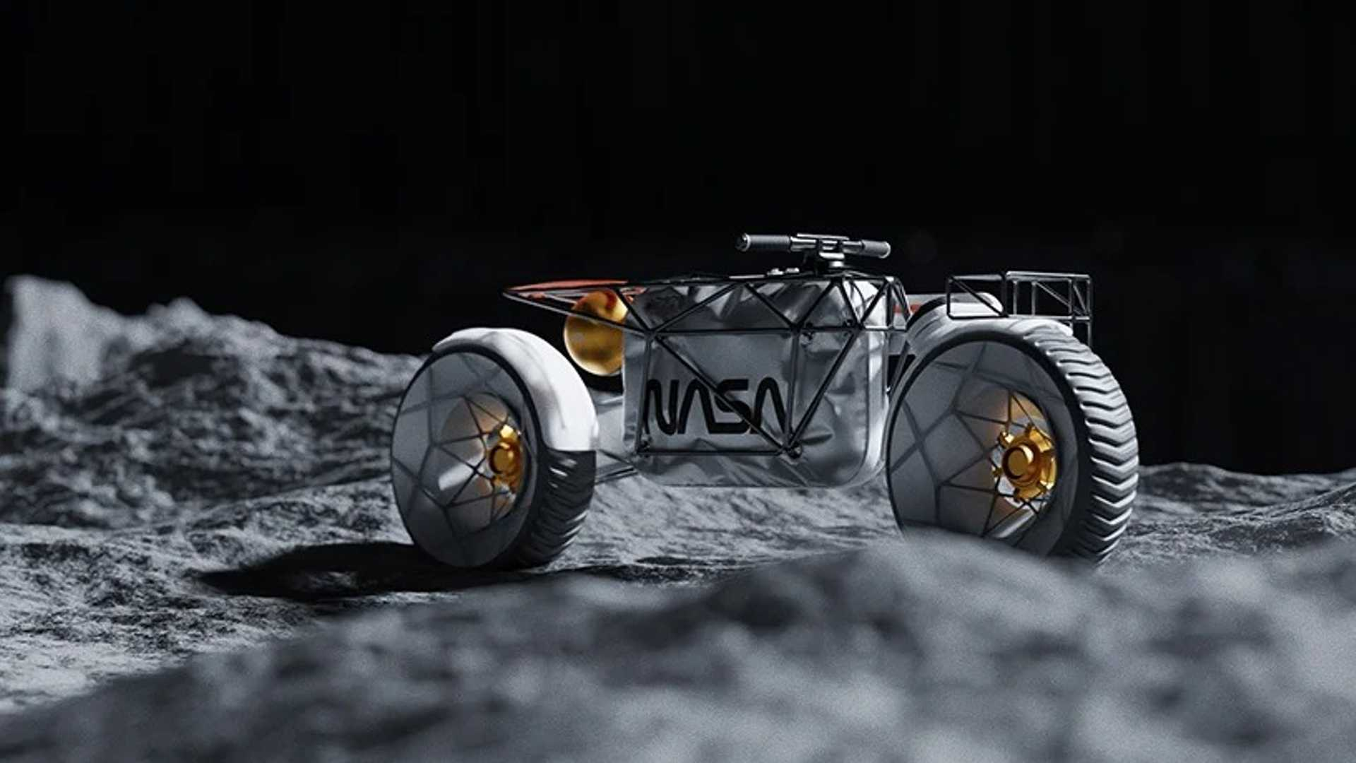 NASA motorcycle envisioned and it's quite brilliant