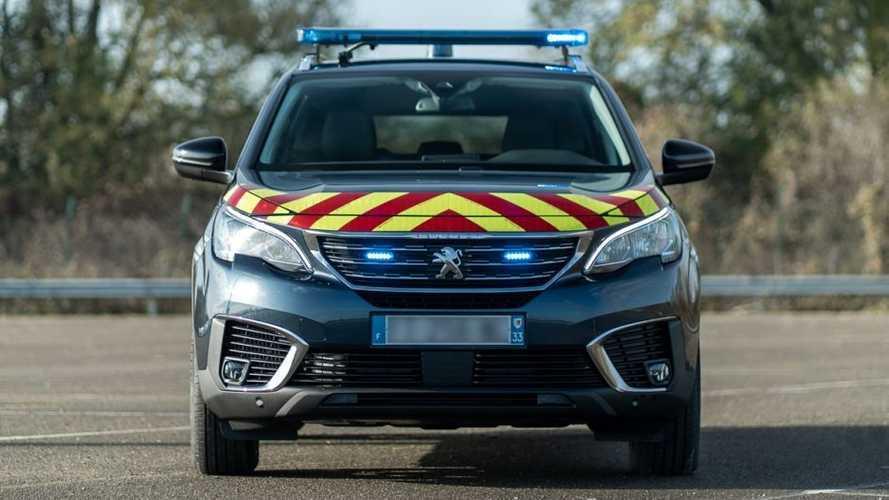 Peugeot 5008 per la Polizia e la Gendarmeria francesi