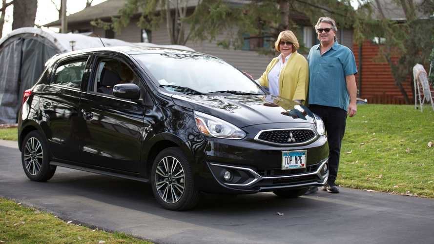 2014 Mitsubishi Mirage With 414,000 Miles