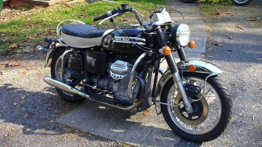 1974 Moto Guzzi California 850GT Police Bike