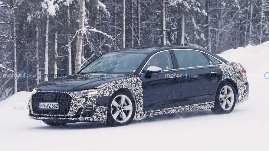 Шпионы поймали большой седан Audi. Возможно, это Horch (20+ фото)