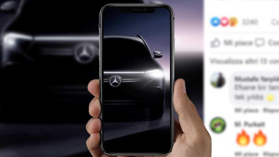 Mercedes EQA - Derniers teasers avant la présentation ce 20 janvier !