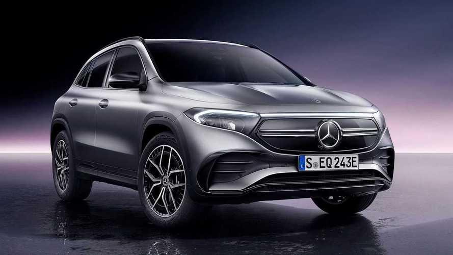 Mercedes представил свой самый дешевый электромобиль