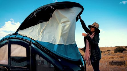 The Earth Traveler Camper Could Be The Ultimate Moto Glamper