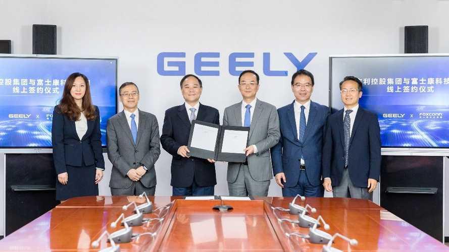 Поставщик Apple объединился с Geely для постройки электромобилей