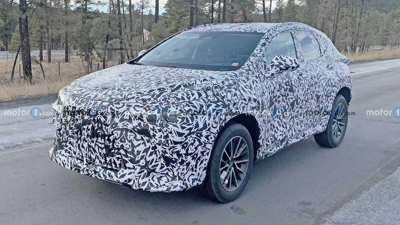 2021 Lexus NX Casus Fotoğraflar