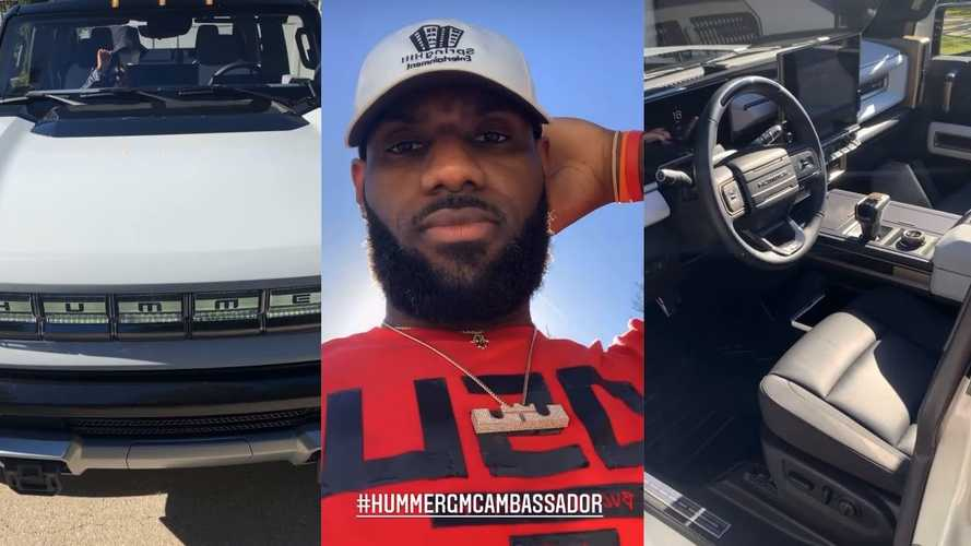 LeBron James Gives A Tour Of The GMC Hummer EV