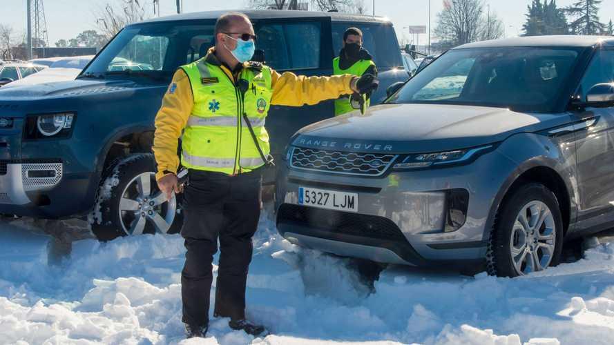 Vehículos 4x4 Land Rover, Emergencias Madrid