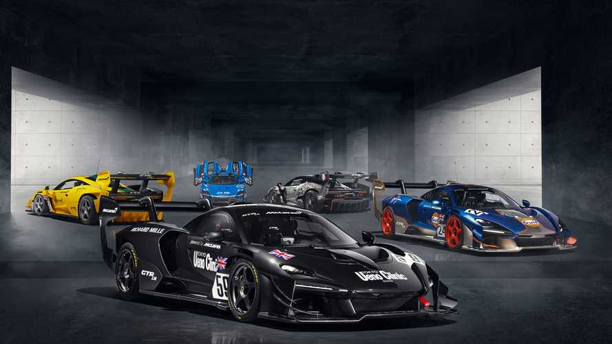 Five unique McLaren Senna GTR LMs commissioned