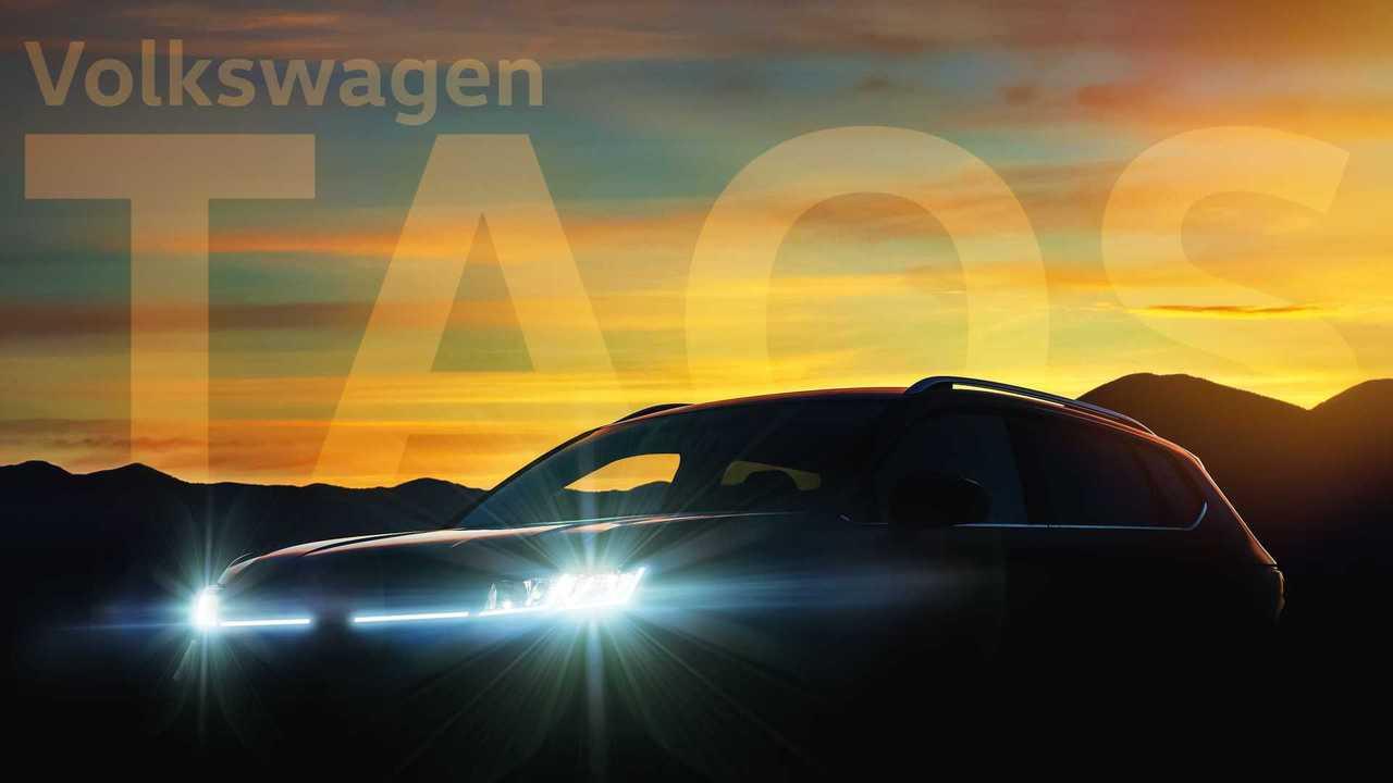 Volkswagen Taos 2022 - Teaser