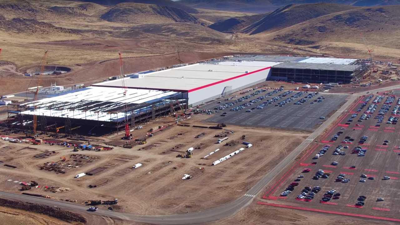 Gigafactory İnşaatı: Aralık 2016