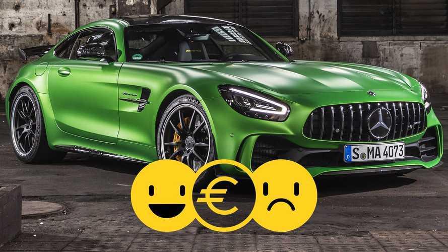Promozione Mercedes-AMG GT R a noleggio, perché conviene e perché no