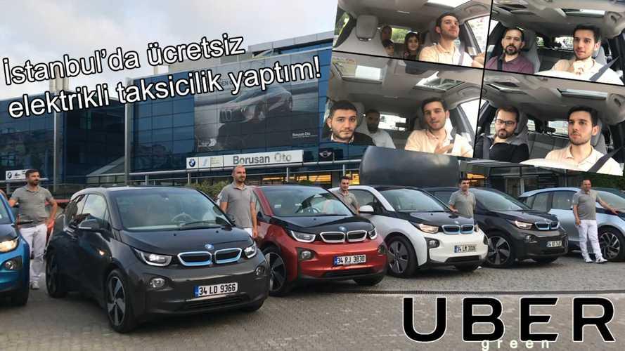 BMW i3 ile İstanbul'da Elektrikli Taksi Oldum [Video]