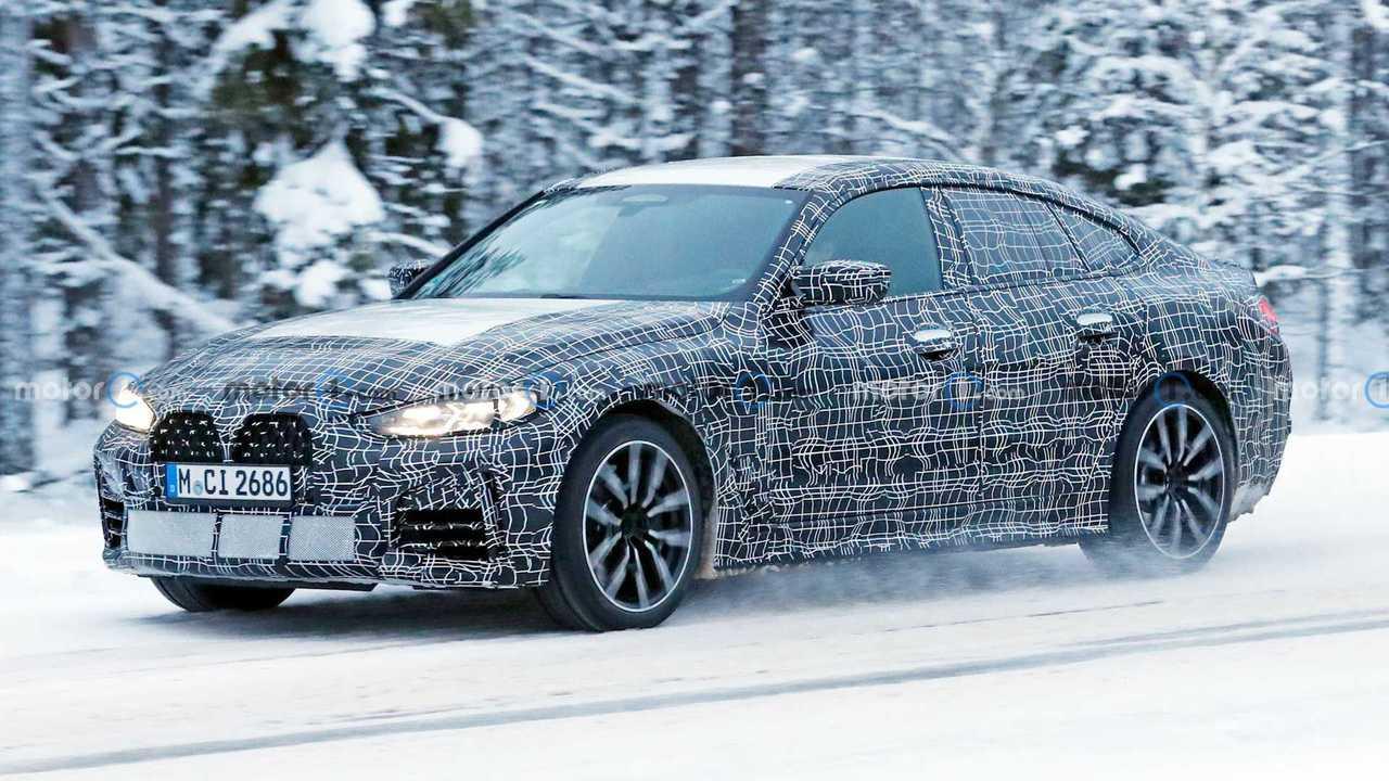 2022 BMW 4 Series Gran Coupe Spy Photos