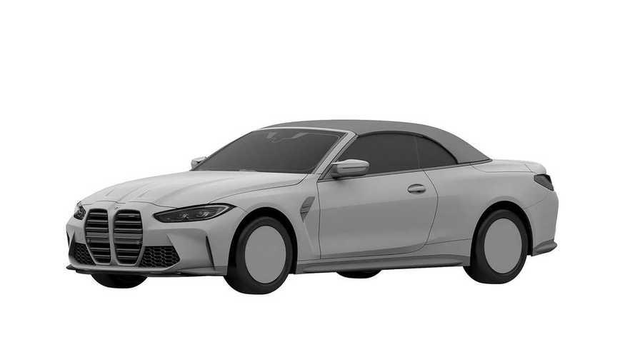 Новый кабриолет BMW M4 раскрыли на патентных эскизах