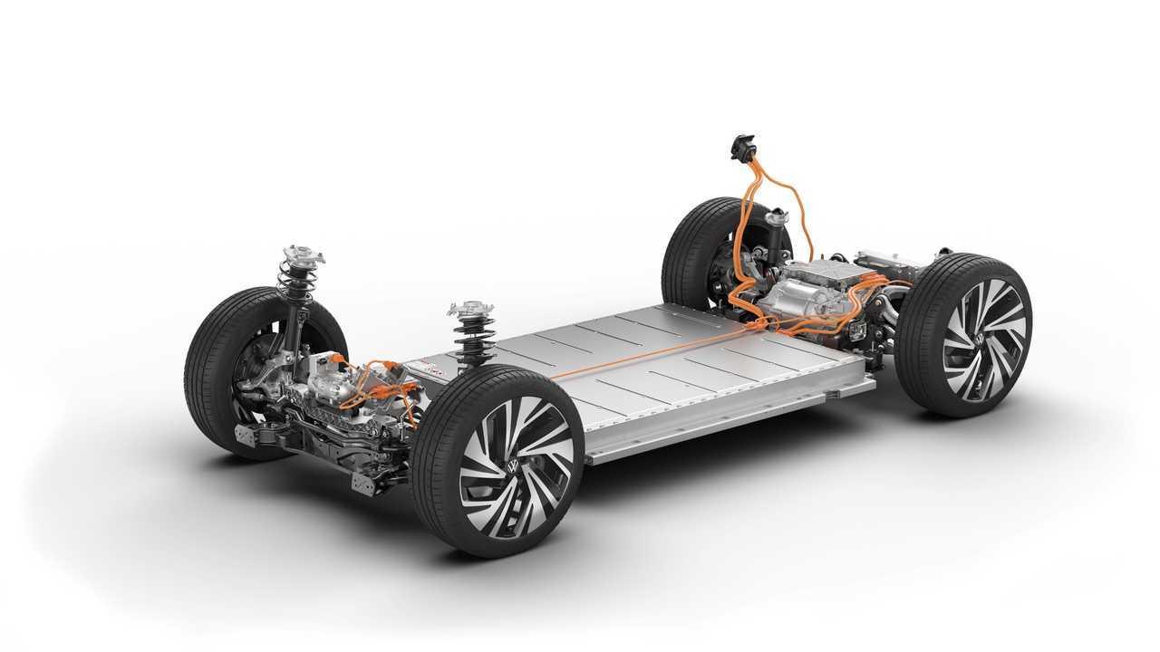 2021 Volkswagen ID.4 Technical Cutaway