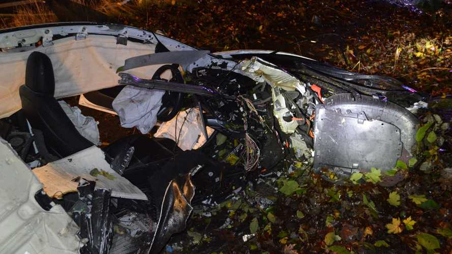 Tesla Model 3: ecco le foto dell'incidente in Oregon