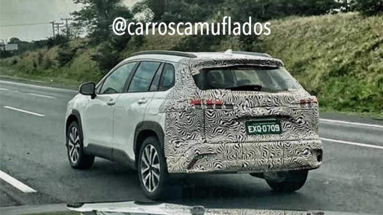Toyota Corolla Cross - Flagra no Brasil