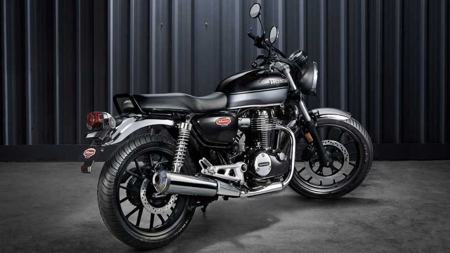 Could A Honda Cafe Racer Based On The CB350 H'Ness Be Coming Soon?