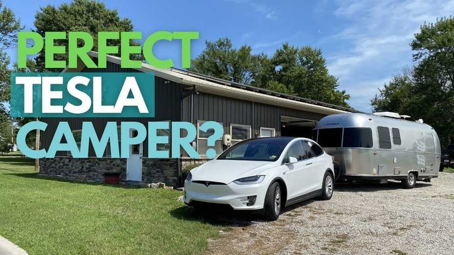 Tesla Model X Tows Airstream | Results Are Impressive