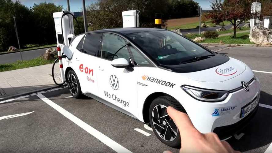 Veja o teste de autonomia do Volkswagen ID.3 na estrada a 120 km/h