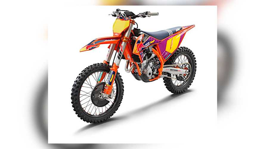 KTM Unveils 2021 250 SX-F Troy Lee Designs Edition