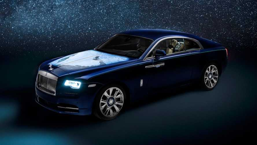 Rolls-Royce builds bespoke Wraith inspired by entire solar system