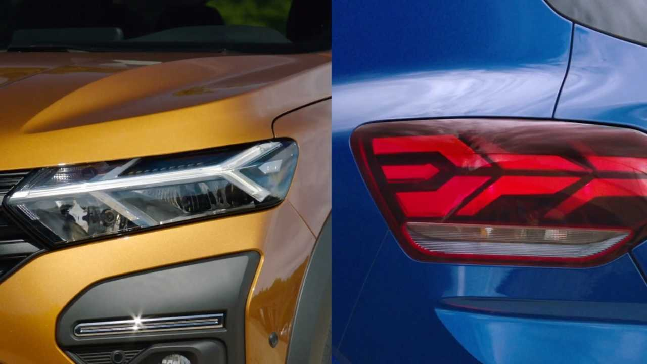 Dacia Sandero teasers