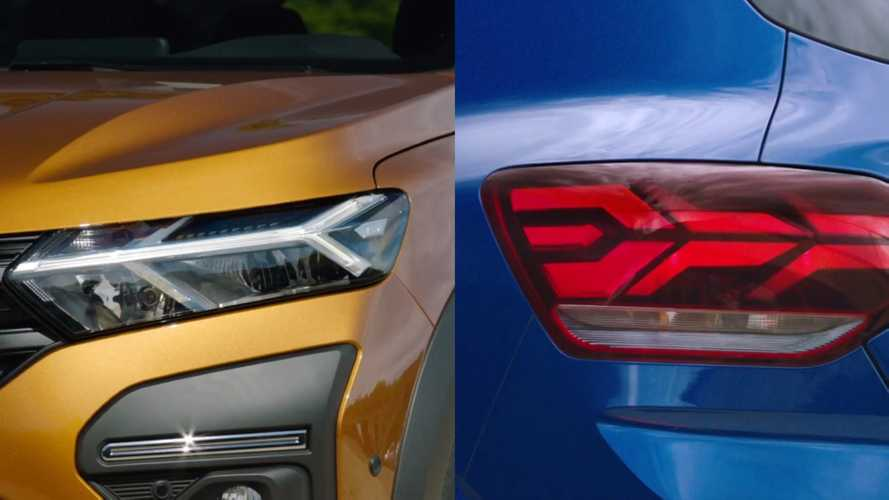 2021 Dacia Sandero, Sandero Stepway, and Logan teased