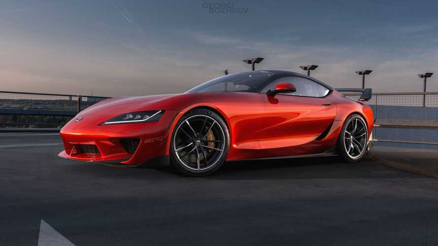 Fan Renders Attractive Toyota Supra Tribute Out Of A Lexus LC