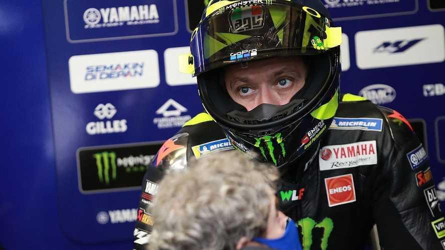 Valentino Rossi, positivo por coronavirus, no estará en Aragón