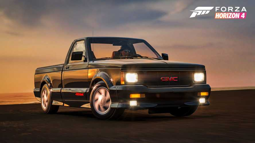 GMC Syclone, Typhoon return to Forza after long absence