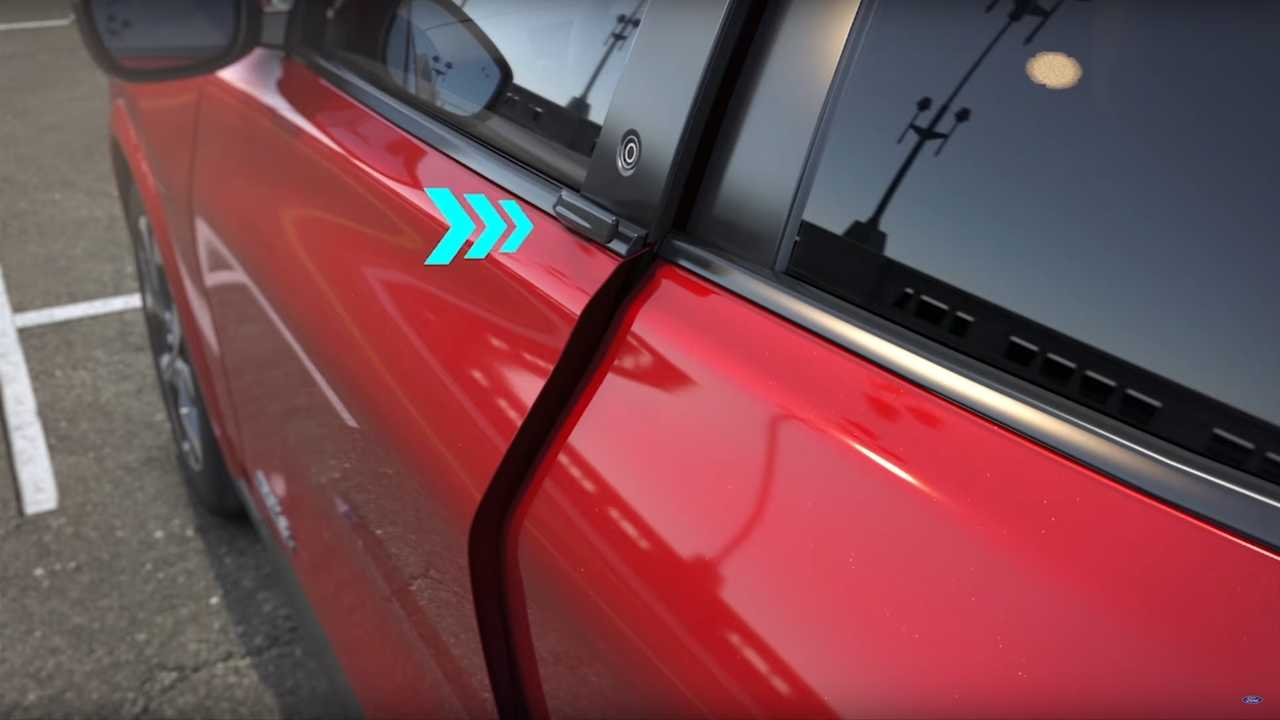 Ford Explains Mustang Mach-E E-Latch Door System