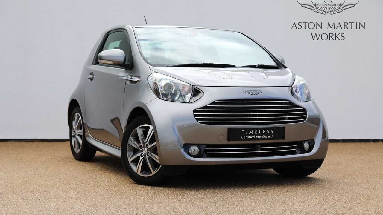 Now's Your Chance To Own An Ultra-Rare Aston Martin Cygnet
