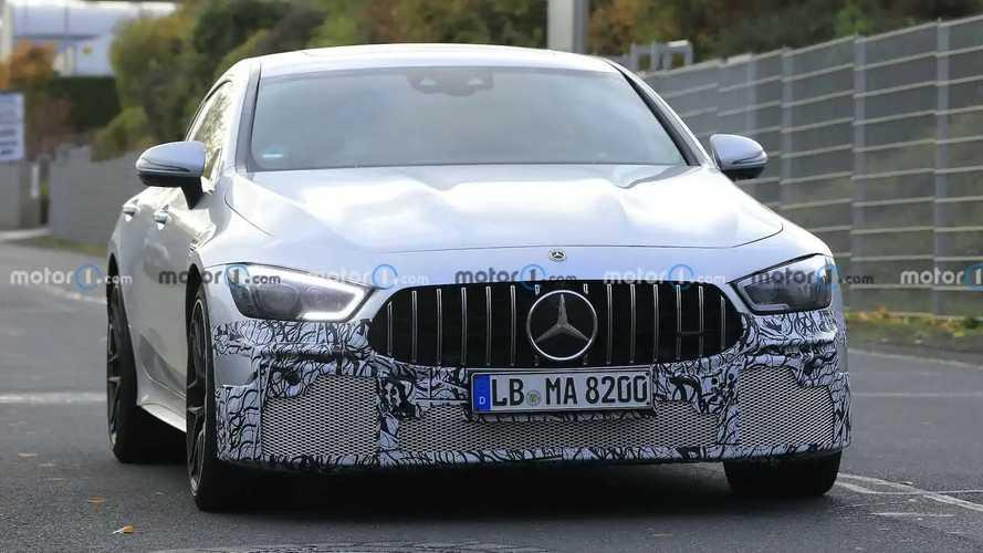 Photos espion - Mercedes-AMG GT Coupé 4 portes 63 S restylée