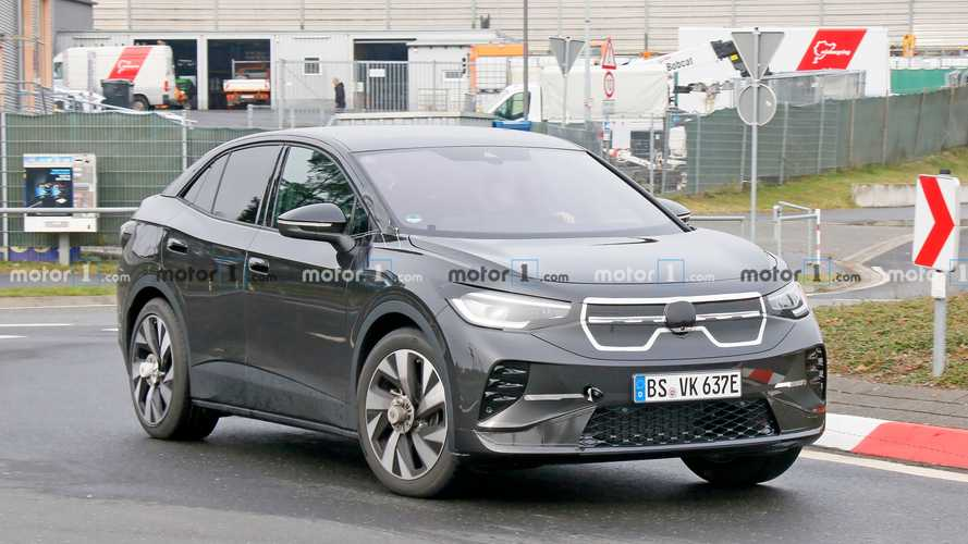 VW ID.5 first spy photos
