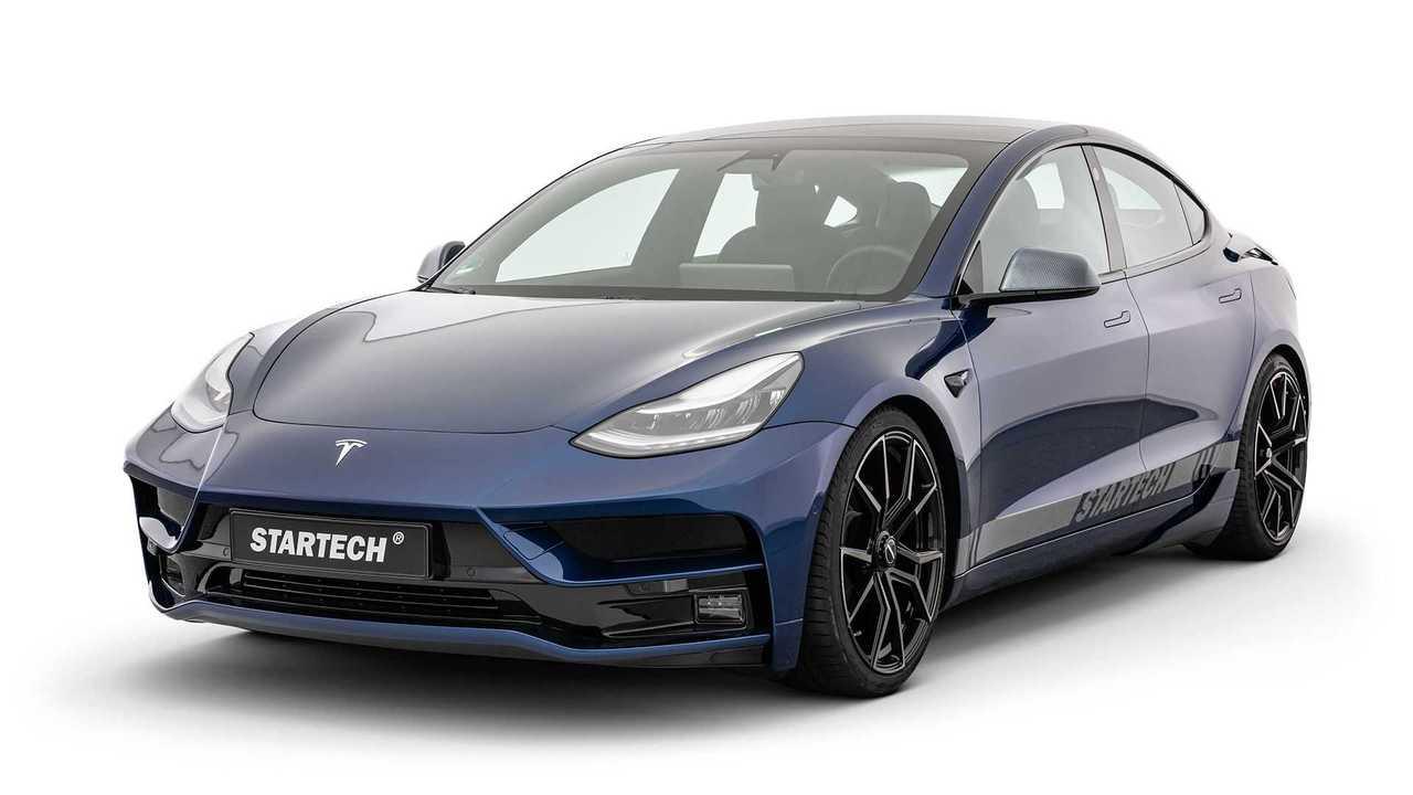 Startech Veredelungsprogramm für Tesla Model 3
