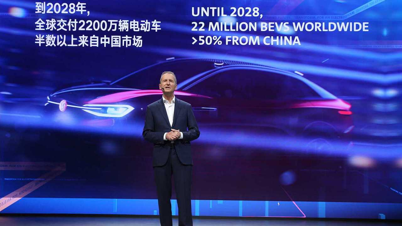 VW Previews It Will Have Sold 22 Million EVs By 2028