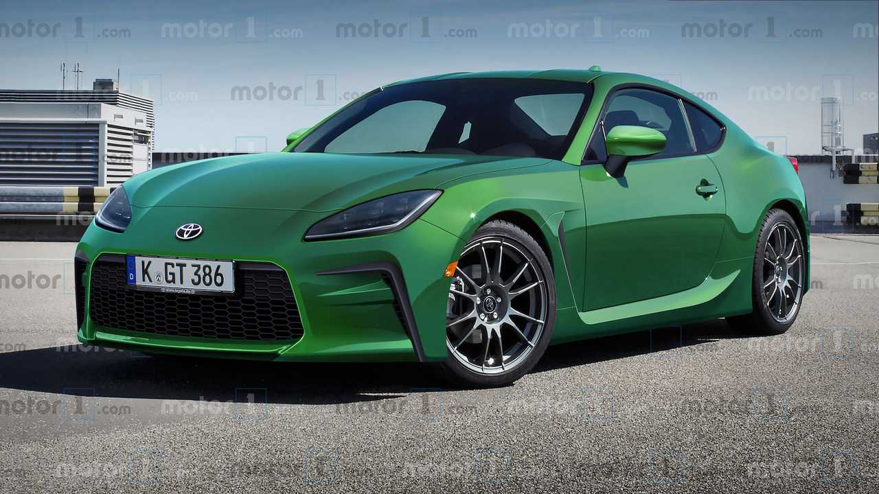 Motor1.com's Exclusive Toyota GR 86 Renderings (Green)