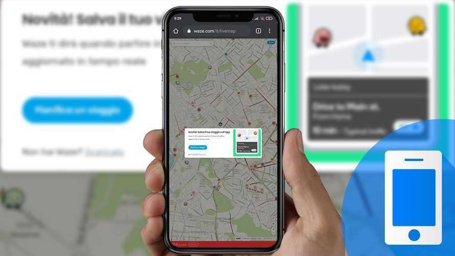 Viaggi in auto: Waze porta sull'app gli itinerari creati in Live Map