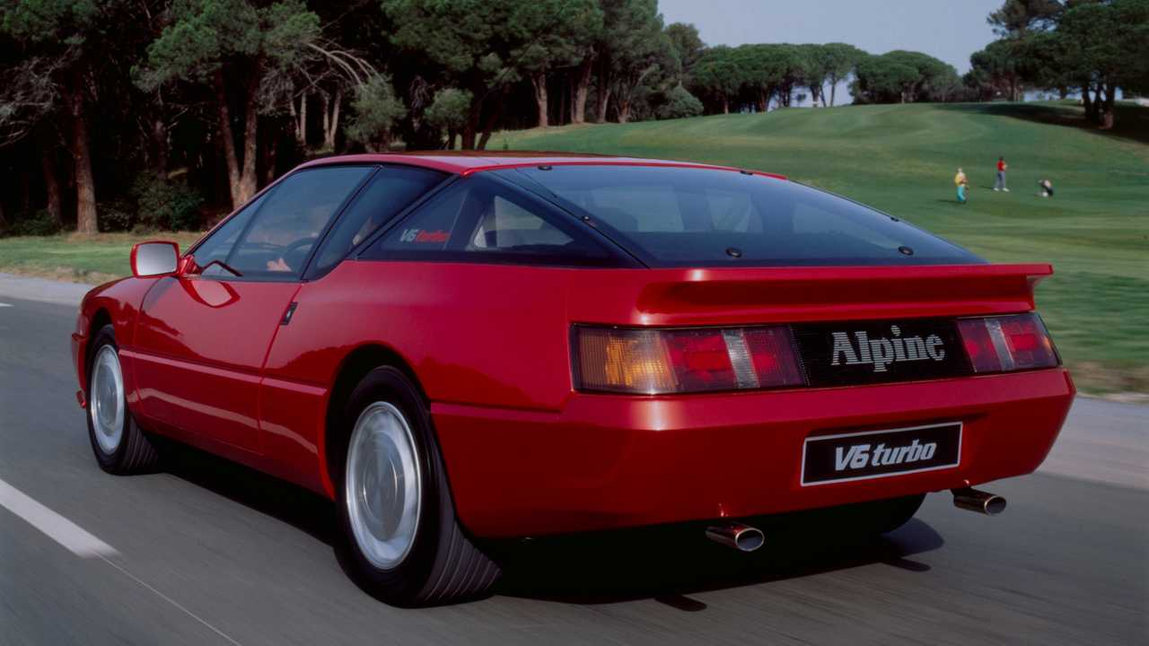 Renault Alpine GTA и крах амбиций – 1980-е