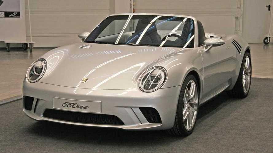 Korábban nem látott Porsche koncepcióról rántották le a leplet