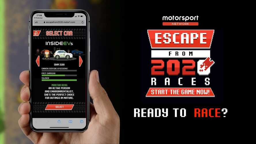 Escape 2020 With InsideEVs.com's New 8-Bit Mobile Racing Game