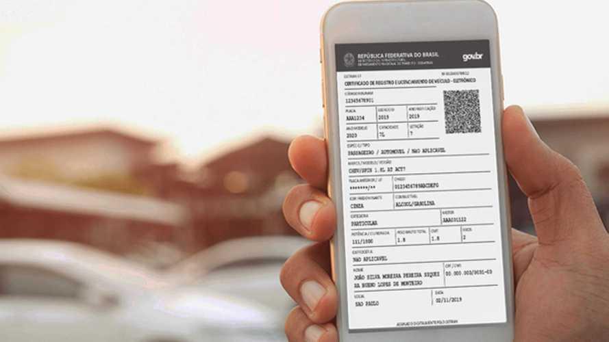 Documentação veicular passa a ser 100% digital em São Paulo em 2021