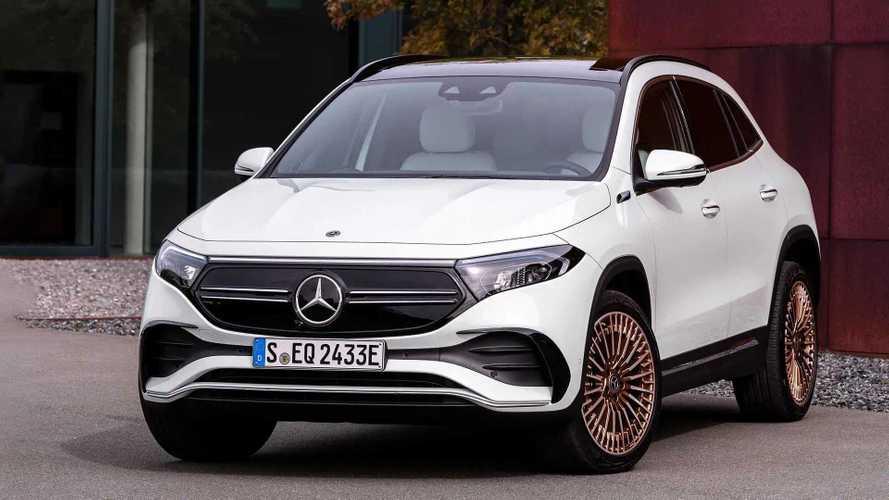 Mercedes-Benz EQA 2021: irmão elétrico do GLA estreia com 400 km de autonomia