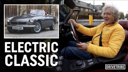 James May sees the point of the fully-electric MGB from RBW Classic Cars