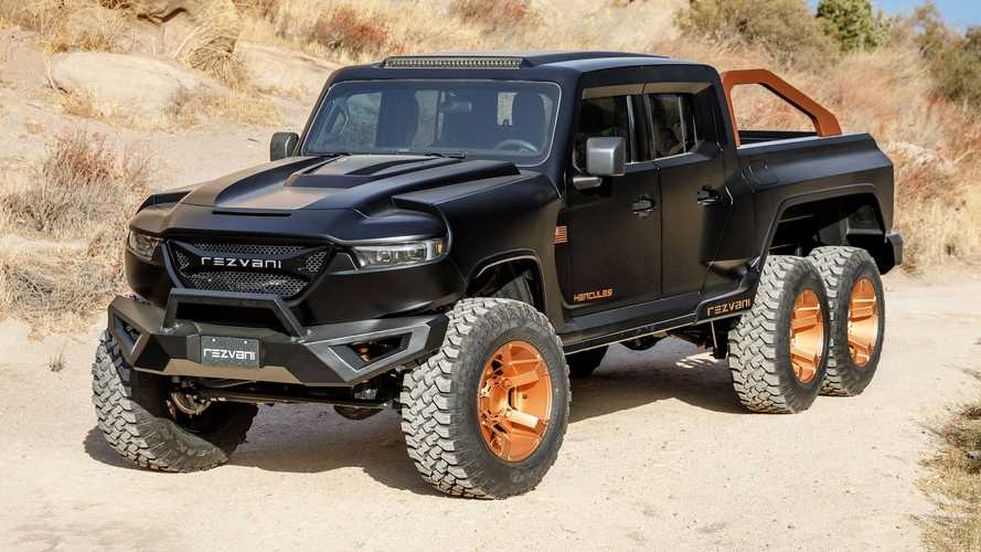 Bonkers Rezvani Hercules 6x6 costs £170,000 with 285 bhp V6 engine