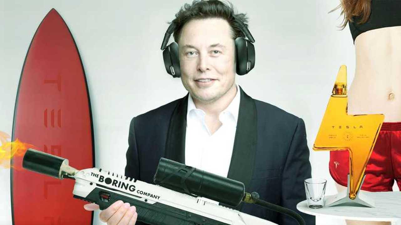 Le 5 cose pazze vendute da Musk
