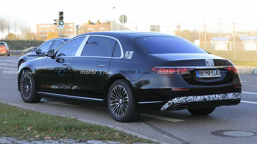 Mercedes-Maybach Clase S 2021, fotos espía