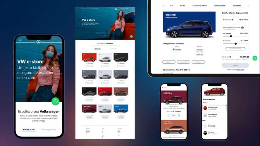Volkswagen lança loja virtual para compra de carros 0km
